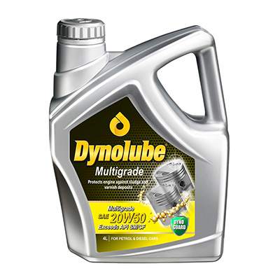 Dynolube Multigrade 20W-50