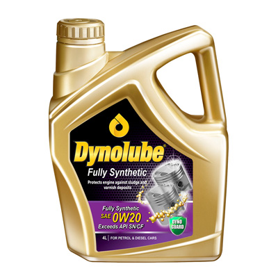 Dynolube Fully Synthetic 0W20