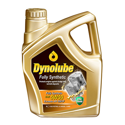 Dynolube Fully Synthetic 5W-50